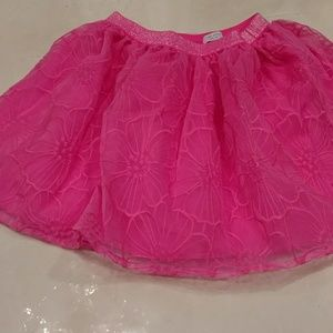 Hot pink Children's place tulle skirt size 7/8